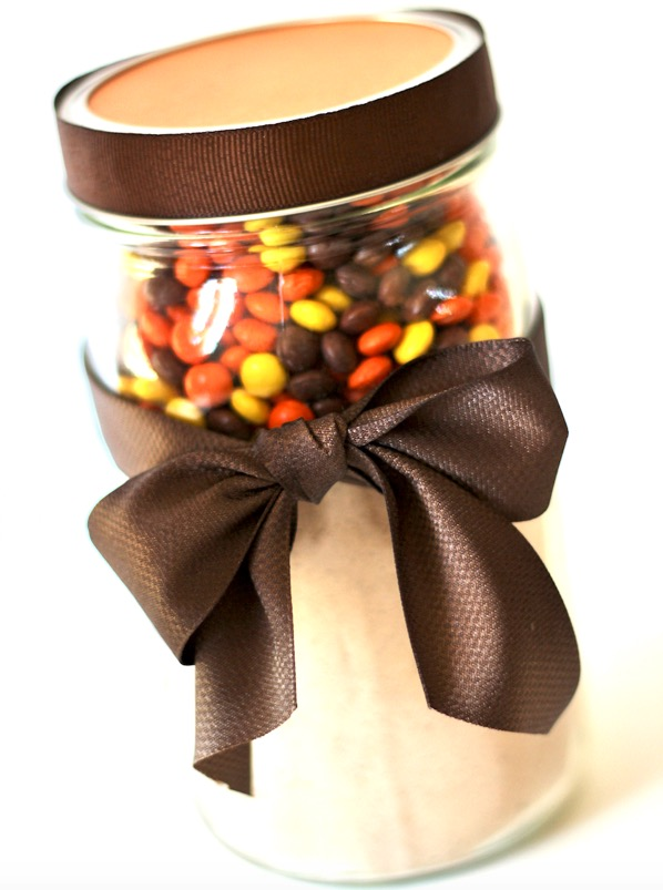 Cookie Mix in a Jar Recipe Reese's Pieces