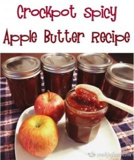 Crockpot Spicy Apple Butter Recipe