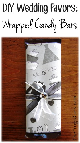DIY Wedding Favor Ideas at TheFrugalGirls.com