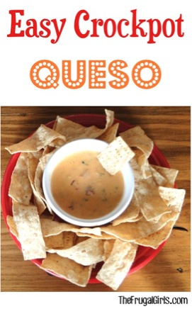 Easy Crockpot Queso