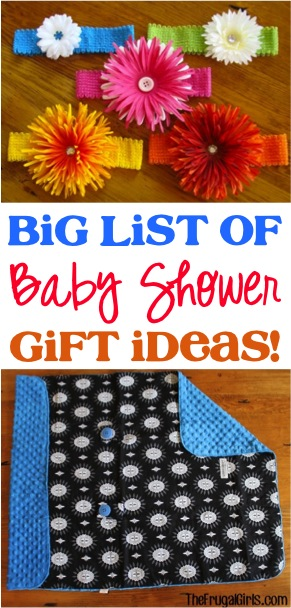 baby shower budget list
