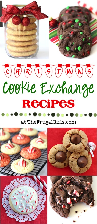 Cookie Exchange Recipes from TheFrugalGirls.com