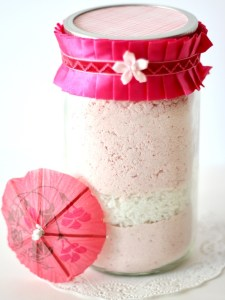 Cookie Mixes in a Jar Strawberry Coconut