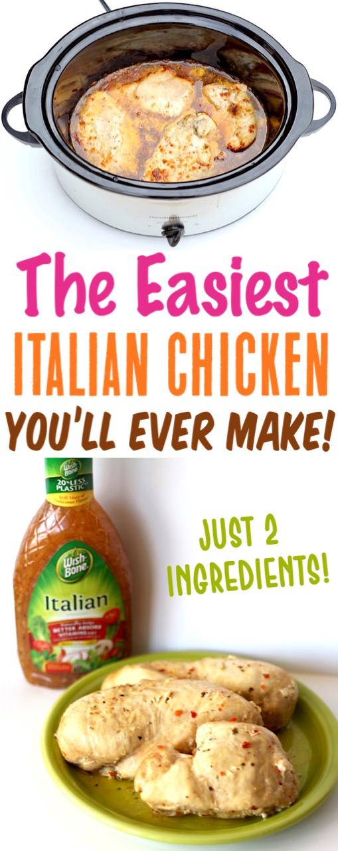 Crockpot Italian Chicken Easy Recipes