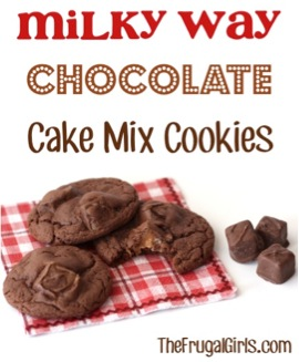 Milky Way Chocolate Cake Mix Cookies Recipe