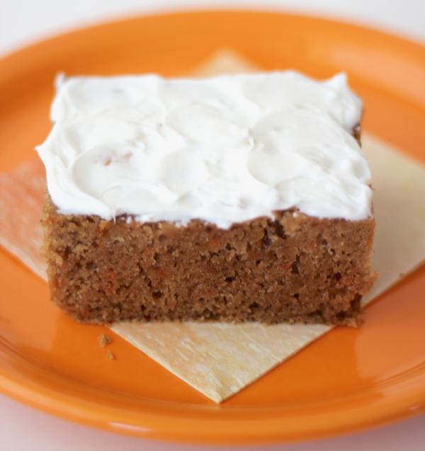 Crockpot Carrot Cake Recipe