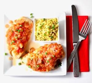 Crockpot Pineapple Salsa Chicken Recipe