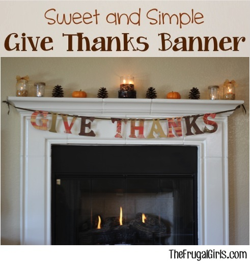 Give Thanks Thanksgiving
