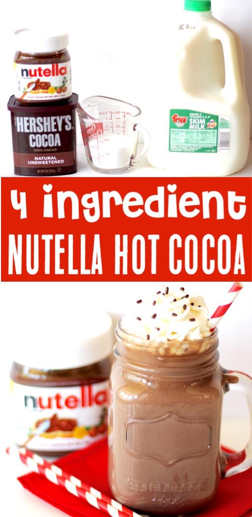 Hot Chocolate Recipes Nutella Hot Cocoa Recipe