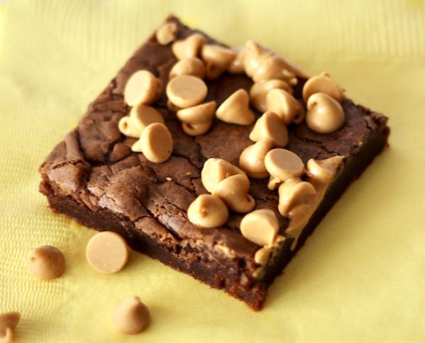 Peanut Butter Brownies Recipe Easy