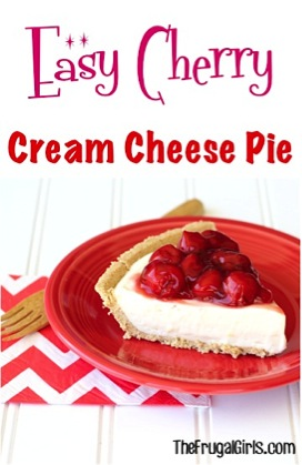 Easy Cherry Cream Cheese Pie Recipe