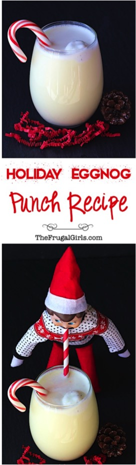 Holiday Eggnog Punch Recipe