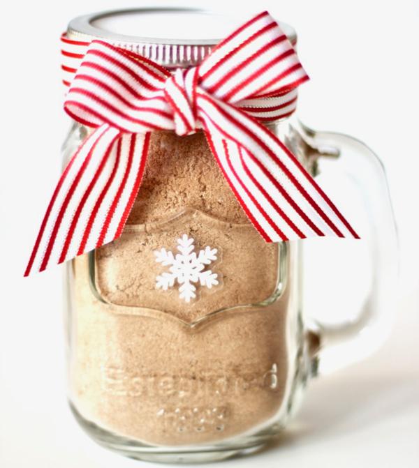 Hot Chocolate Mix In A Jar Recipe Diy Gift The Frugal Girls