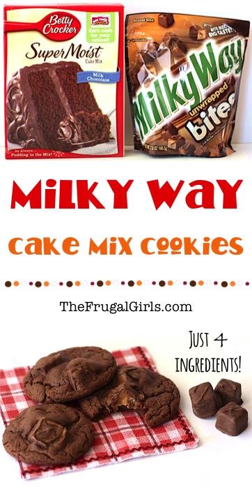 Milky Way Cookies Recipe - at TheFrugalGirls.com