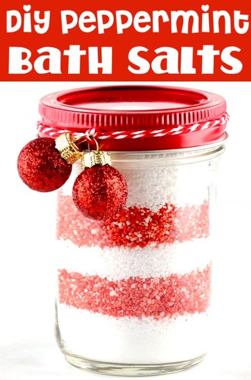 Bath Salts DIY Recipe with Peppermint Essential Oils