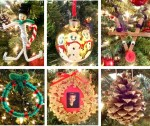 Christmas Ornament Crafts for Kids Homemade Easy