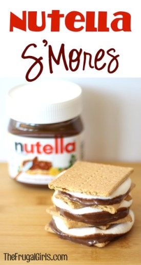 Nutella Smores from TheFrugalGirls.com