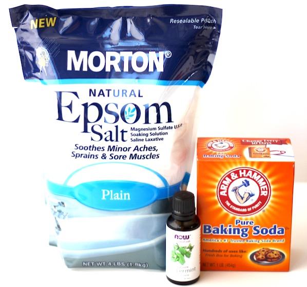 Peppermint Bath Salts DIY Recipe