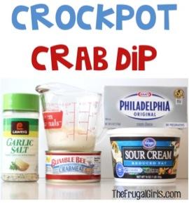 Crockpot Crab Dip