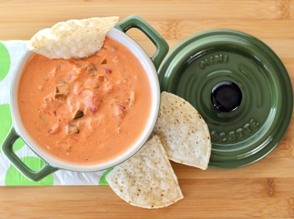 Crockpot Creamy Salsa Dip Recipe
