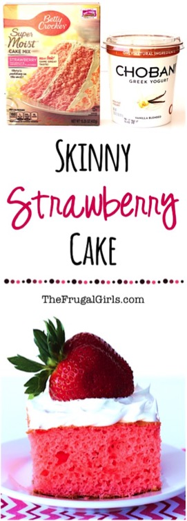 Skinny Strawberry Cake Recipe