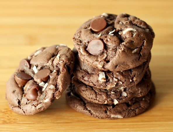 Chocolate Mounds Cookies Recipe