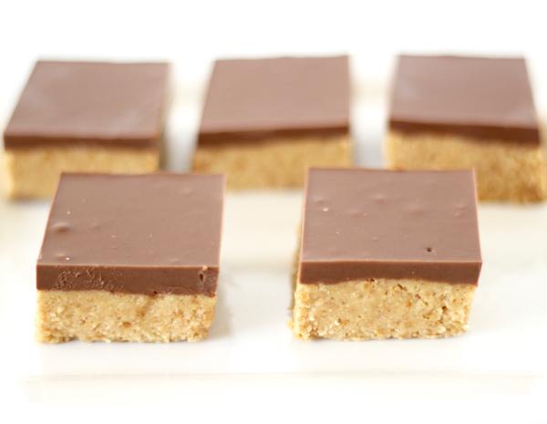 Copycat Reese's Peanut Butter Bars Recipe