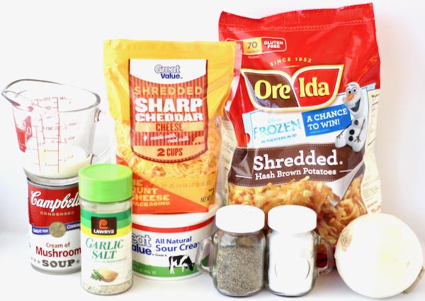 Crockpot Cheesy Hashbrowns Recipe