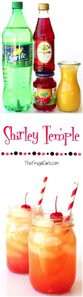 Shirley Temple Recipe