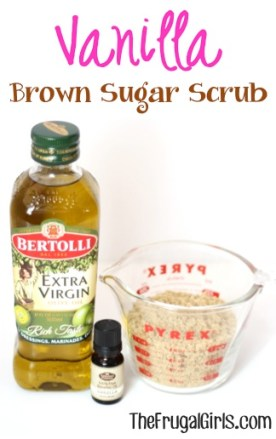 Vanilla Brown Sugar Body Scrub Recipe from TheFrugalGirls.com