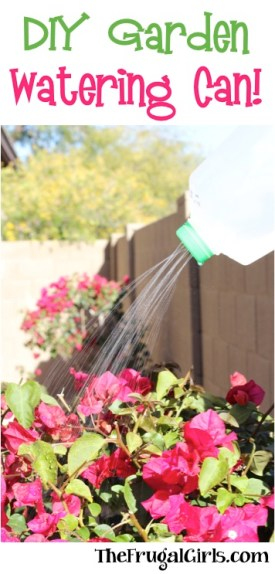 DIY Garden Watering Can from TheFrugalGirls.com