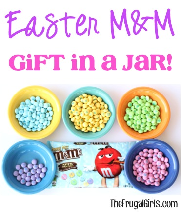 Easter MM Gift in a Jar