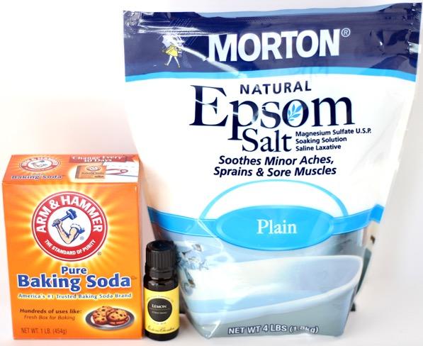 Lemon Bath Salts Recipe