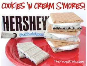 Cookies N Cream SMores Recipe