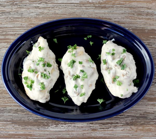 Crockpot Creamy Mushroom Chicken Recipe
