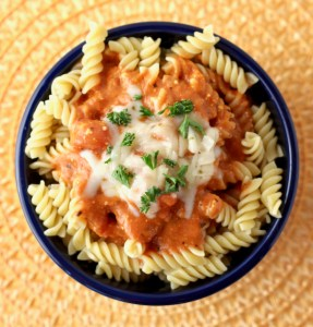 Crockpot Pepper Jack Tomato Pasta Sauce Recipe