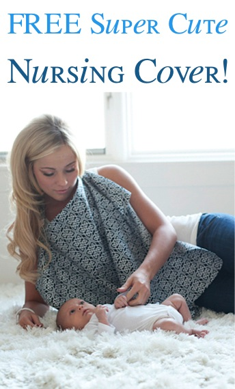 Free Super Cute Nursing Cover at TheFrugalGirls.com