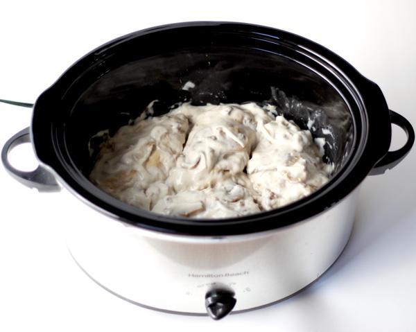 Slow Cooker Mushroom Chicken Recipe