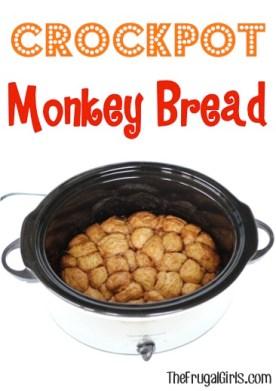 Crockpot Monkey Bread Recipe - from TheFrugalGirls.com
