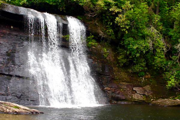 Smoky Mountains - Silver Run Falls - Travel Tips at TheFrugalGirls.com