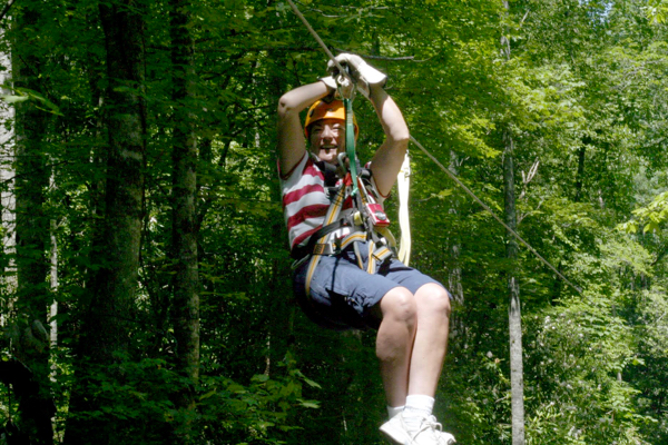 Smoky Mountains Zipline Ride and Hiking Tips at TheFrugalGirls.com