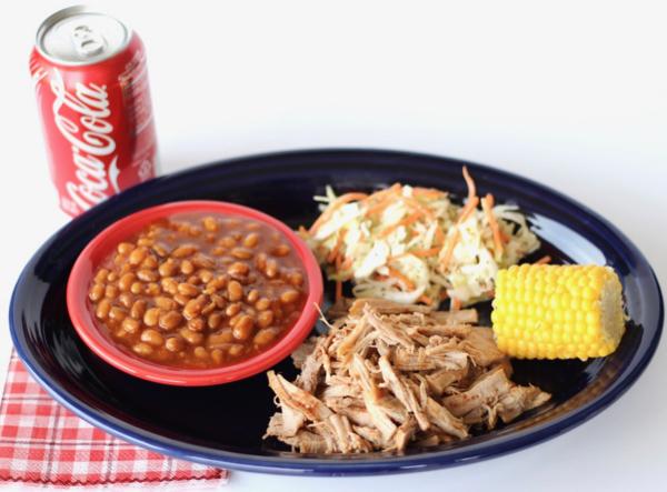Crockpot BBQ Coca-Cola Pulled Pork Recipe