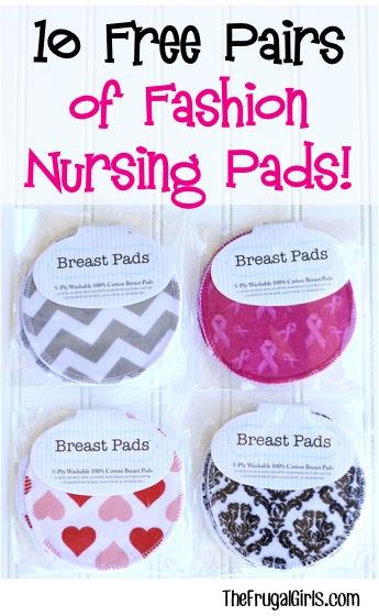 Free Fashion Nursing Pads