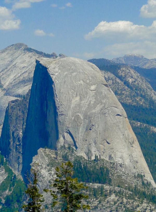 Half Dome Hike - TheFrugalGirls.com
