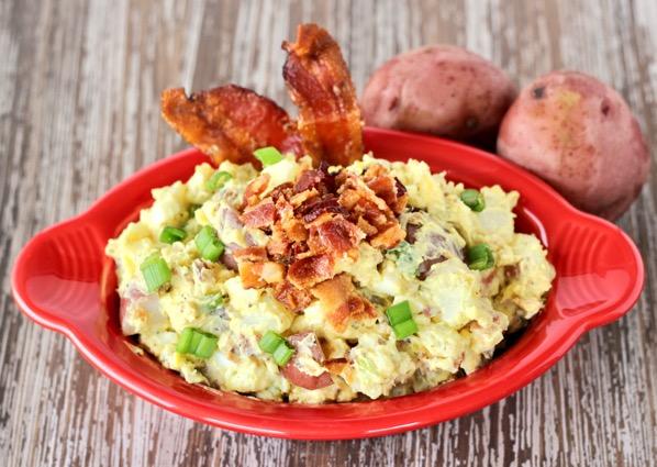 Texas Ranch Red Potato Salad Recipe