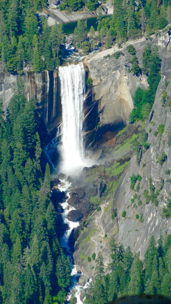 Yosemite Vernal Falls from TheFrugalGirls.com