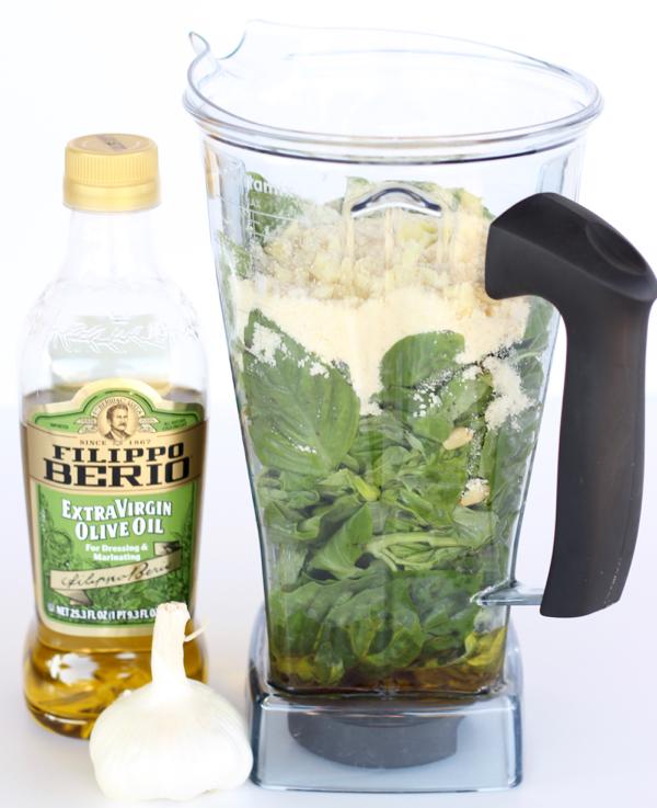 Easy Basil Pesto Recipe | TheFrugalGirls.com