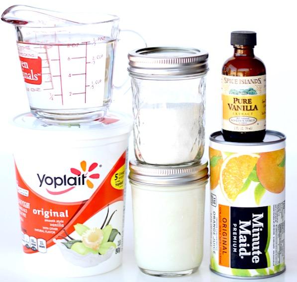Orange Julius Popsicles Recipe