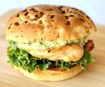 Creamy Pesto Grilled Chicken Sandwich Recipe