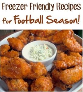 Freezer Friendly Recipes for Football Season